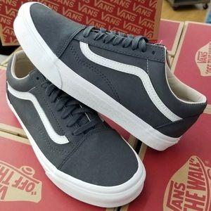 Vans Old Skool Sneakers Asphalt Gray Mens 8.5